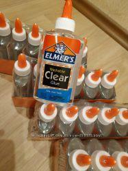 клей Elmers Clear 147 мл. для слаймов