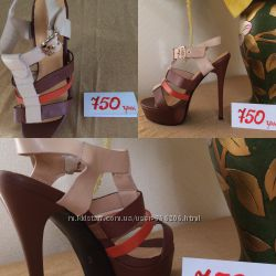 Обувь женская . Стильные босоножки . B. Tempt . Супер -цена