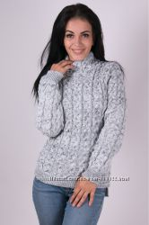 fc1c391cf815 Роскошный объемный вязаный свитер с косами reserved три модели, 950 ...