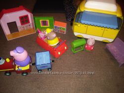Наши игрушки Peppa pig Mega bloks
