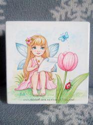 Шкатулка роспись Маленькая фея