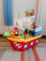 Пиратский корабль Kiddiland