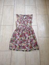 Платье летнее женское шифоновое