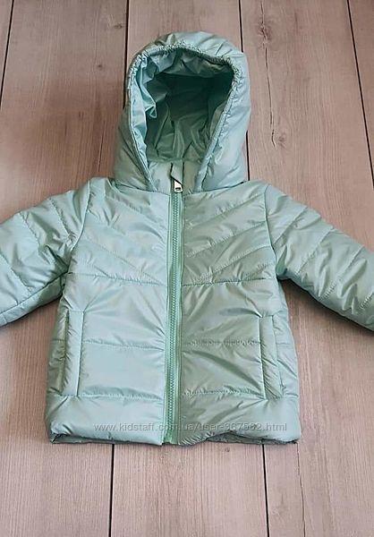 Мятна весняна куртка Одягайко