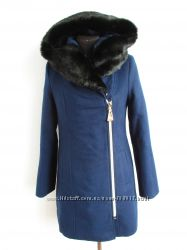 Зимнее кашемировое пальто