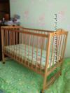 Детская кроватка до 3-х лет с матрасом