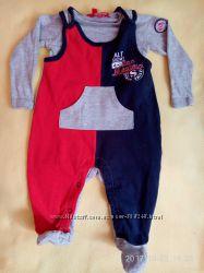Одежда дЛя новорожденных Комплекты 0-6мес. Человечки. Боди.