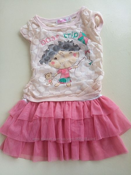 Платье сарафан на 4-5 лет