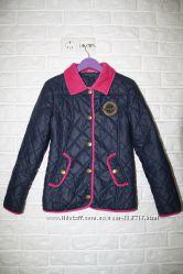 Демисезонная стеганая куртка для девочки, р. 134-140