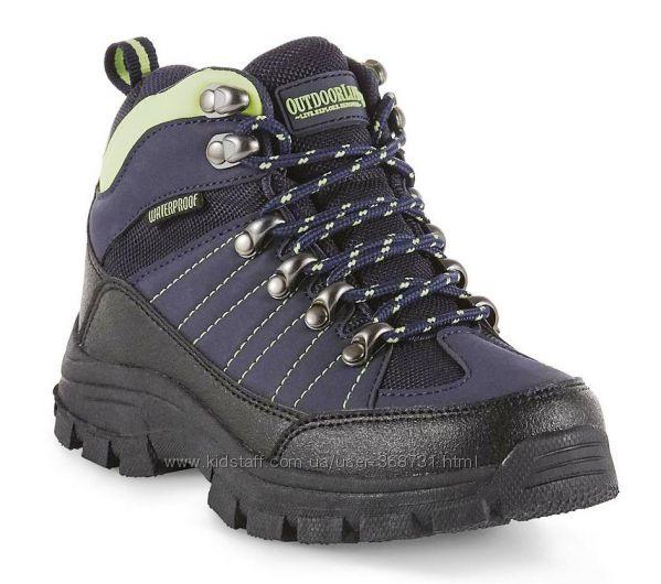 Демисезонные ботинки OUTDOOR LIFE Boys Waterproof. Р. 36, 37. 5, 39. США.