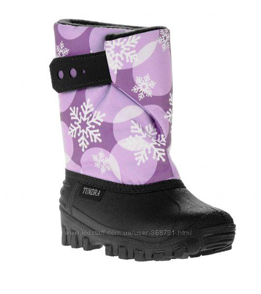Зимние сноубутсы Tundra Girl Teddy Snowboot. Размеры 27-29. Оригинал.