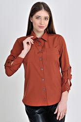 Рубашка классическая из софта MoDiva модель 264