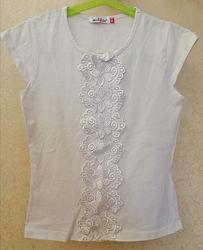 Школьная футболка блуза Matilda Матильда р. 128
