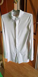 Рубашка бальная белая