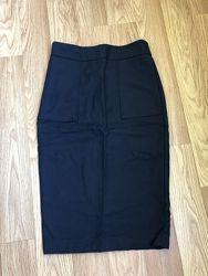 Юбка-карандаш Zara basic размер xs
