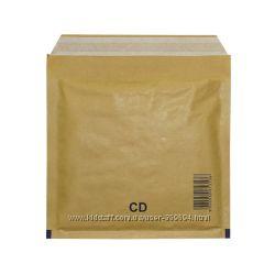 Конверты бандерольные для CD -дисков 180 х 160 Польша