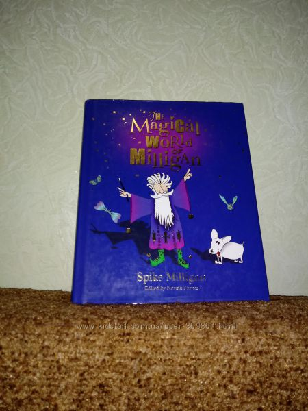 Книга на английском The Magical world of Milligan