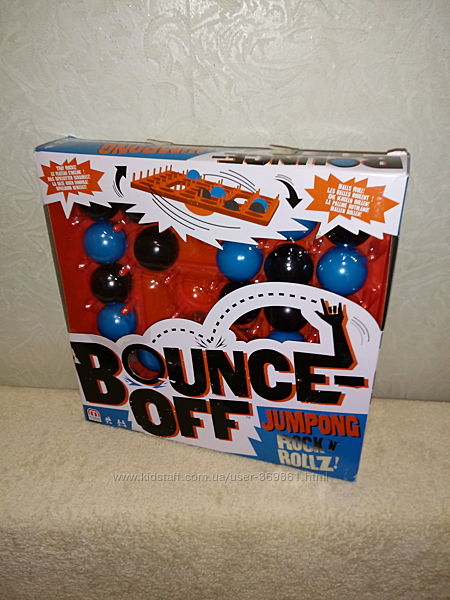 Игра Bounce-off Jumpong Mattel Games Rock&acuten&acuteRollz