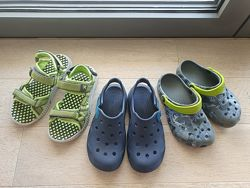 Сабо Crocs  босоножки Crocs Swiftwater, Kamik