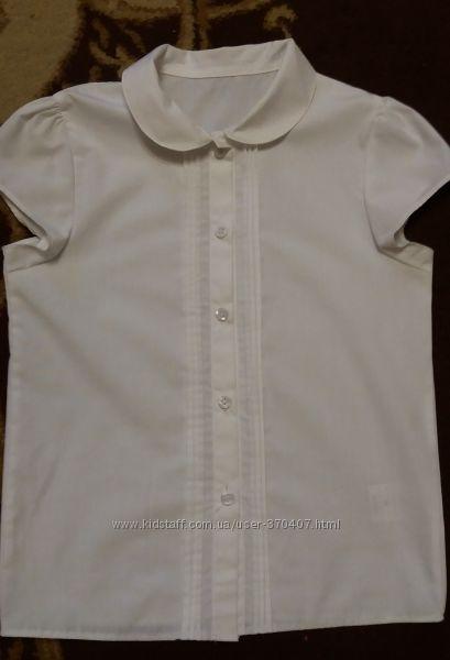 Белые блузки для первоклашки George, Mevis