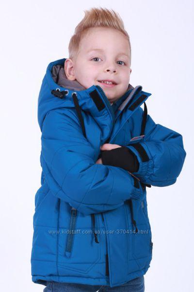 Зимняя термо куртка парка для мальчика Be easy