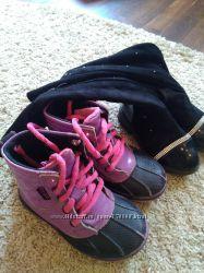 Ботинки Crocs 9 и ботфорты 27. Пакет 4.