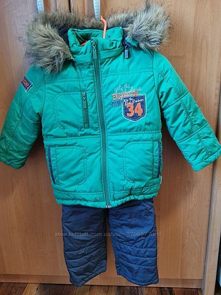 Зимний костюм бемби, рост 92