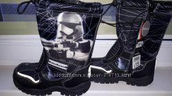 Зимние сапоги GEORGE Star Wars 32размер