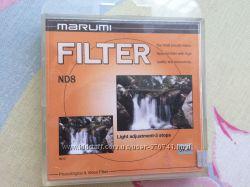 Фильтр Marumi ND8 67 mm для объектива состояние нового