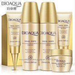 Мини набор Bioaqua с экстрактом улитки для ежедневного ухода