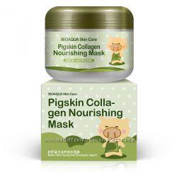 Знаменитая коллагеновая маска для лица Pigskin Collagen Nourishing Mask