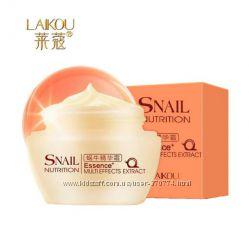 Дневной омолаживающий крем для лица с экстрактом улитки Laikou, 50 мл