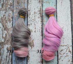 Волосы для создания кукол, тресы для кукол 15см Киев