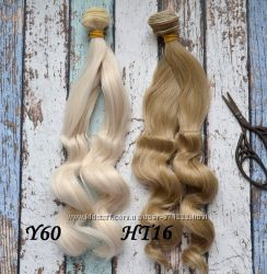 Волосы для реставрации куклы кукол волна 25см Киев