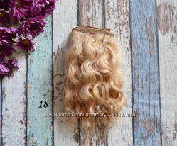 Коза козочка в тресах волосы для куклы