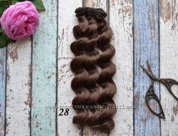 Волосы для создания кукол 25см Киев