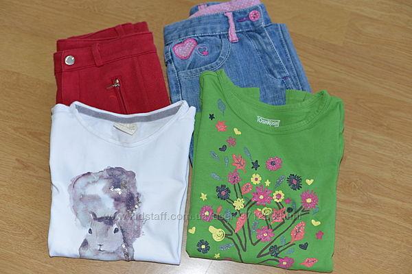Пакет одежды для девочки 6-7 лет