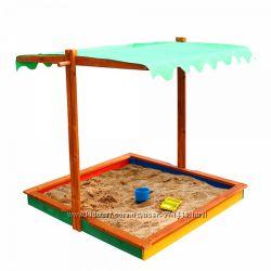 Песочница 24 с тентом и защитой от дождя