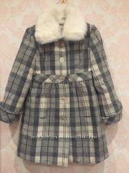 Пальто Miss Blumarine 4-6 л, шерсть