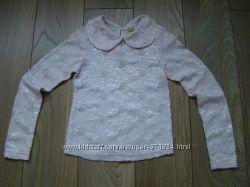 Продам нарядную кофту блузку  на 6-8 лет в отличном состоянии
