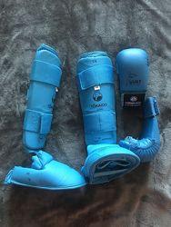 Профессиональная защита для карате -латы, перчатки, Tokaido Japan, XS size