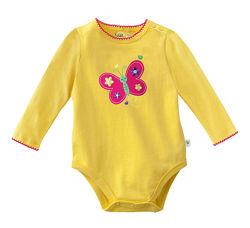 Бодики - 6 расцветок - на 3-6, 6-9м и 12-18м- кнопки на плече