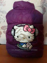 Жилетка теплая H&M Hello Kitty 2-3 года