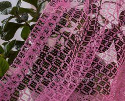 Ткань для тюля  сетка  крупная, высота 2. 8м, есть пошив