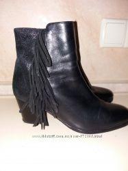 Ботиночки женские 38р кожа Германия belmondo