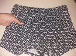Шорты-юбка amisu 44-46 рр с карманами