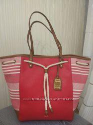 Шикарная сумка  Ralph Lauren кожа