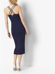 Эффектное трикотажное платье миди m - l  Kors