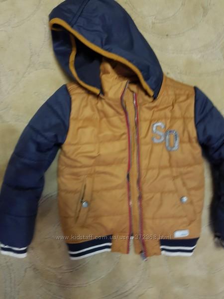 Куртка демисезон, еврозима 116см S&acuteOliver