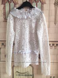Блуза нарядная для школы на 6-7 лет от tashkan цена снижена.